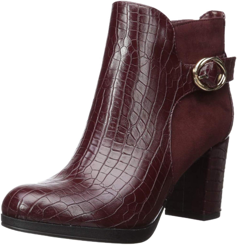 Bella Vita Damen Leann II Fashion Stiefel, Burg Croc SPSD, SPSD, SPSD, 8 M US 1f6