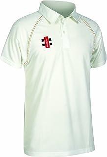 Gray-Nicolls New Matrix Short Sleeve Cricket Shirt Match Playing Mens Sports Top