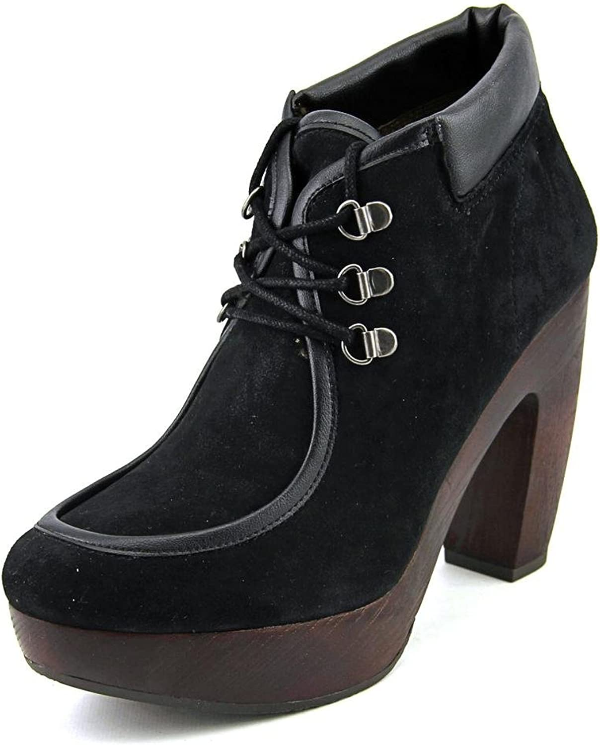 Lucky Brand Cendara Women US 7.5 Black Bootie