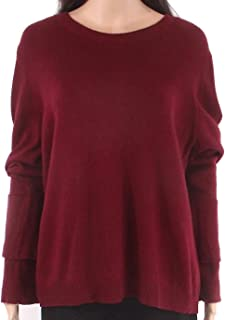 J.Crew Mercantile Womens Sweater Red US XXL Plus Pullover Bell-Sleeve