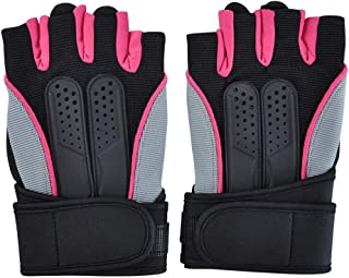 Infgreate Stylish Warm Outdoor Sports Gloves Anti-slip Cycling Fitness Gym Train Half Finger Weight Lifting Men Sport