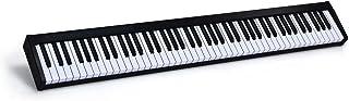 COSTWAY Teclado Piano Digital 88 Teclas Portátil con MIDI