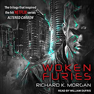Woken Furies audiobook cover art