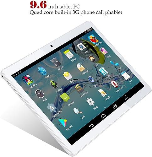punto de venta Padgene Android Tablet 9.6 Pulgadas Phablet con con con WiFi azultooth4.0 GPS Ranura para Tarjeta Dual Sim Doble Cámara Ultra Slim Tablet PC Quad Core MTK 6582 Procesador 1GB RAM 16GB ROM  bienvenido a elegir