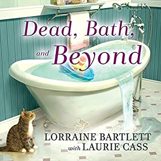 Dead, Bath and Beyond audiobook cover art