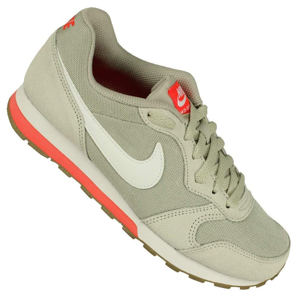 crema marxista Doncella  Nike - MD Runner 2 GS - 807316008 - Color: Blanco-Gris - Size: 36.0:  Amazon.es: Zapatos y complementos