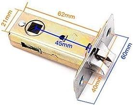 Deurslot Badkamer enkele slot Body Lock Latch Single Tong Lock Case Small Lock Part Duurzaam (Color : Silence latch 45mm)