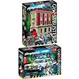 PLAYMOBIL® Ghostbusters™ Set: 9219 Fire Station + 9220 Ecto-1