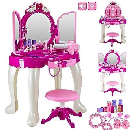 buy online 7dab3 d0b2e Kids Vanity Table: Amazon.co.uk