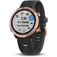 Garmin Forerunner 645 Music, GPS Running Watch with Garmin Pay Contactless Payments, Wrist-Based...