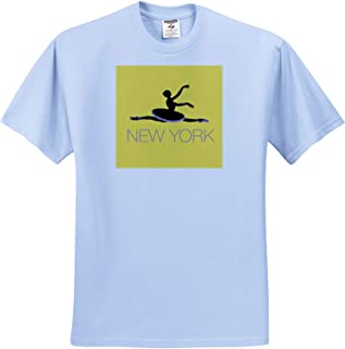 Green Birdwatcher with Hummingbird Blotting Outline Ink Drawing T-Shirts 3dRose Kike Calvo Bird Watching and Ornithology