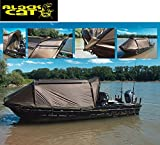[page_title]-Black Cat Special Boat Cave II 335x220x105cm - Bootszelt, Angelzelt zur Montage auf Angelboot, Wallerzelt für Wallerboot