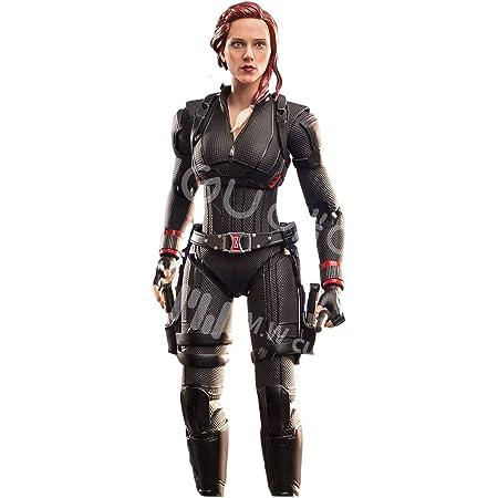 「AC」MW&MIGU TOYS マーベル 1/9 スーパー ヒーロー キャラクター Black Widow ブラック・ウィドウ アクションフィギュア フルセット [並行輸入品]