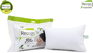 Recron Certified Bliss Fibre Pillow - 43 cm x 69 cm, White