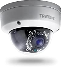 TRENDnet Indoor/Outdoor 1.3 Megapixel HD PoE IR Dome Style Network Camera, Digital WDR, 720p, IP66 Rated Housing, 82ft. Night Vision, ONVIF, IPv6, TV-IP321PI