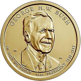 2020 P, D 2 Coin - George H.W. Bush Presidential Uncirculated