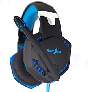 Redgear HellFury 7.1 USB Professional Gaming Headphones with LED and Mic for PC