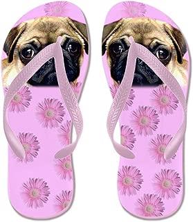 Pug Dog Beach Sandals