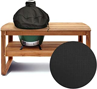 """KAMsater 29"""" Kamado Dome Grill Cover for Large Big Green Egg or Kamado Joe Classic in Built-in Or Island,L BGE Accessories Waterproof Outdoor Grill Cover"""