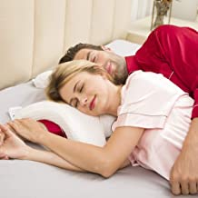 Darbar Online Arched Pillow, Romantic Couple Sleeping Pillow, Slow Rebound Pressure, Anti-Hand Numb & Anti Snore