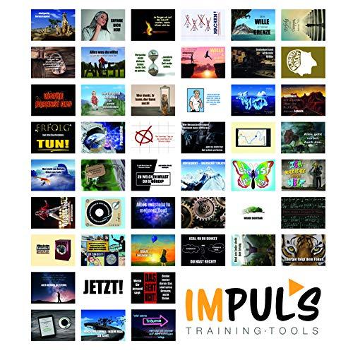48 Motivationskarten von Impuls Training Tools - 48 Postkarten mit Zitaten und Sprüchen für jeden Tag