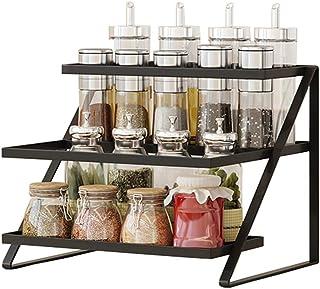 YJKDM Support de Rangement de comptoir, Support de Rangement Multifonctionnel pour Condiments ménagers, Support de Rangeme...