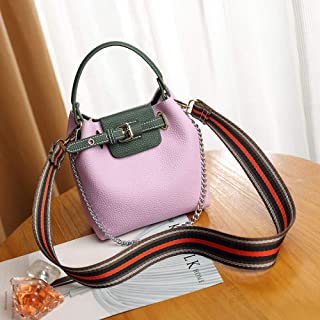 LIMING Shoulder bag female small fresh bag classic daughter-in-law bag hit color hand ladle shoulder diagonal female bucke...