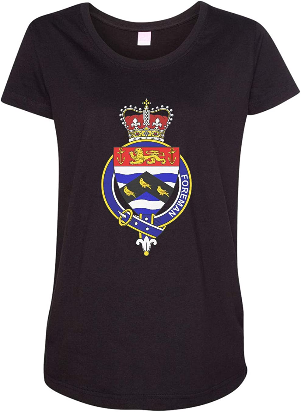 HARD EDGE DESIGN Women's English Garter Family Foreman T-Shirt