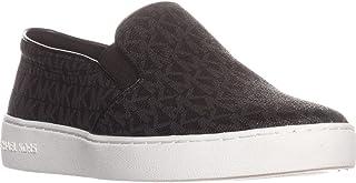 Michel Kors Keaton Women's Slip On Fashion Sneakers Shoes (10 M US, Black)