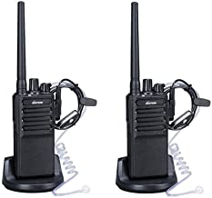 Walkie Talkies Voice Scrambler with Earpiece for Adults Outdoor CS Hiking Hunting..