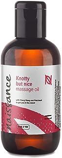 Naissance Huile de Massage Sensuelle et Aphrodisiaque « Knotty but Nice » - 100ml - Mélange 100% naturel d'huile de Pépins...