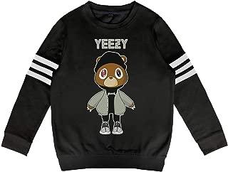 Child Kanye-West-Graduation-Teddy-Bear- Sweatshirt Long Sleeve Top for Boys Or Girls