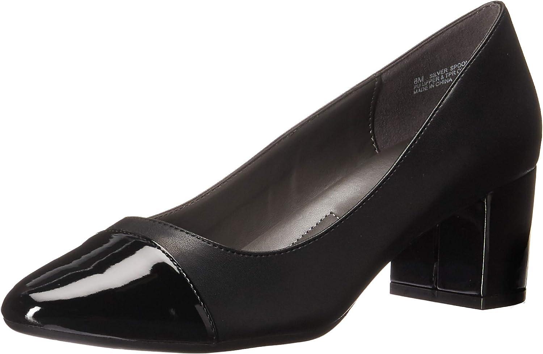 Aerosoles Damen Silberlffel (Silber Spoon), schwarz