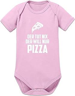 Shirtcity Der TUT nix der Will nur Pizza Baby Strampler by