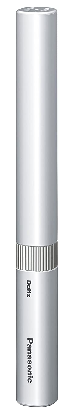病気未満シガレットパナソニック 電動歯ブラシ ポケットドルツ シルバー EW-DS1B-S