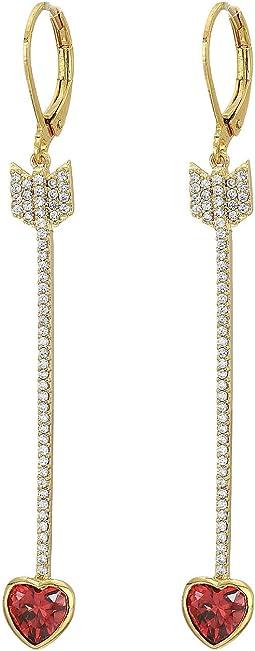 Romantic Rocks Linear Earrings