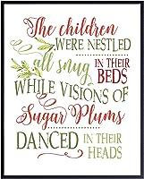 Twas The Night Before Christmas Xmas Decorations - Holiday Decorations - Santa Claus Decoration - Cute Christmas Decor -...