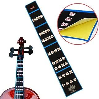 Chienti- 4/4 Violin Fiddle Finger Guide Fingerboard Sticker