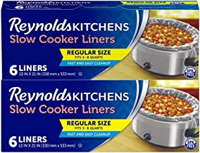 Reynolds Kitchens Premium Slow Cooker Liners, 12 Count