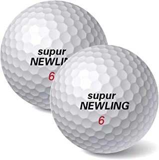 IYUT supurNEWLING High Performance Golf Balls 3-Piece 12 Premium Tour Soft Golf Balls Ultimate Straight Long Distance Balls 1 Dozen Tour-PU