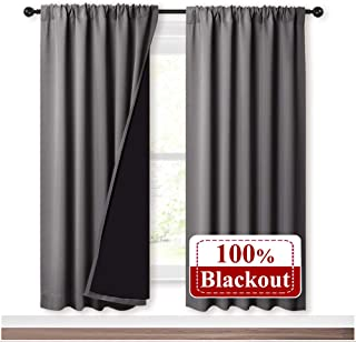 Amazon Com 71 To 80 Inches Panels Curtains Drapes Home