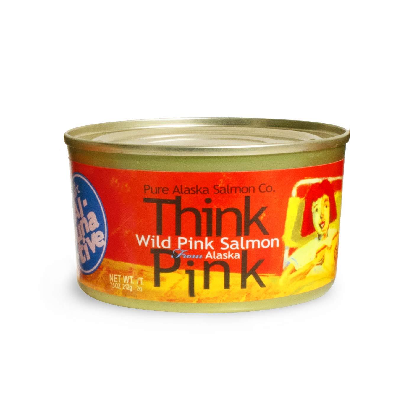 Think Pink Wild Alaska Pink Salmon -The Original Smart Al-TUNA-t