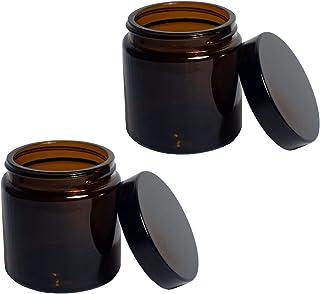 Comandante Ersatzglas mit Deckel (2 STK.) für C40 MK3 Kaffeemühle (2 x Braunglas)