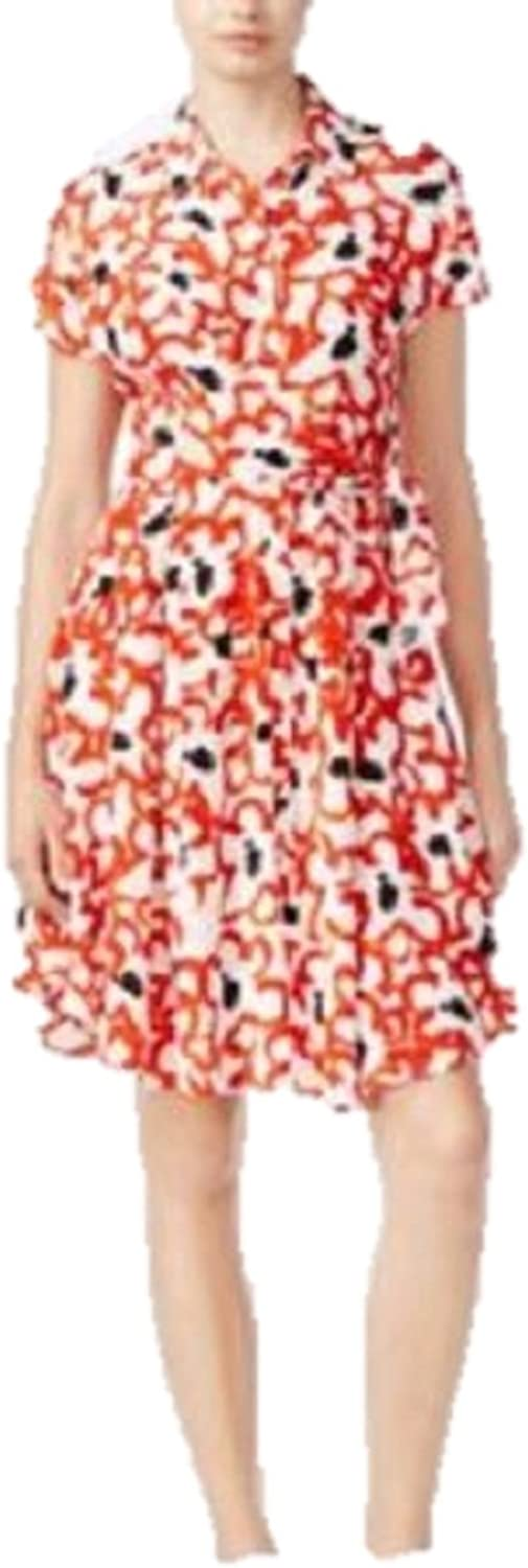 Rachel Rachel Roy Womens Printed ButtonDown Shirtdress