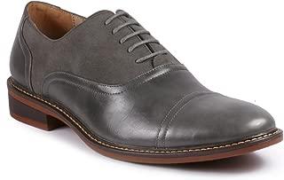 MC603 Men's Lace Up Cap Toe Classic Oxford Dress Shoe