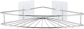 Etagère de salle de bain Organisateur d'angle de rangement de l'étagère de rangement avec design sans perfection en acier ...