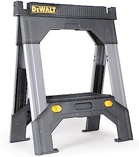 Dewalt DWST11031 Adjustable Metal Legs Sawhorse,Black