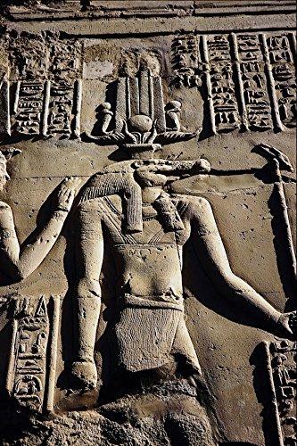 756030 Sobek In De Tempel Van Haroeris En Sobek In Kom Ombo Egypte A4 Photo Poster Print 10x8