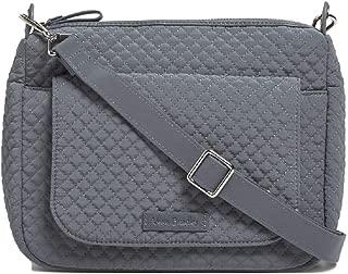 Vera Bradley Carson Mini Shoulder Bag in Charcoal Microfiber