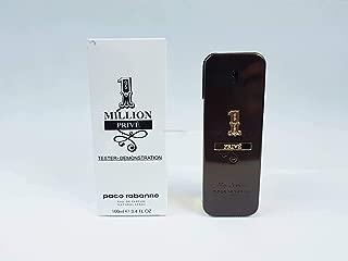 Paco Rabanne One Million Prive Eau De Parfum For Men 3.4 Fl Oz (Plain Box)